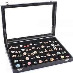 リングケース 指輪 ベロア調 ベルベット ピアスケース 100個□
