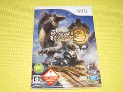 Wii★モンスターハンター3 トライ