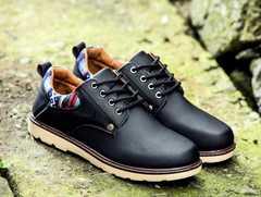 メンズ 民族風靴 ブーツ ブラック 適切サイズ43/27cm