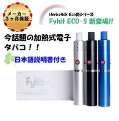 【Herbstick Eco最新モデル】 FyHit Eco-S シルバー 保証付