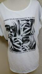 TシャツプリントB:100〜108�a新品未使用タグなし