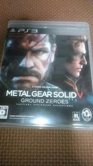 PS3 METAL GEAR SOLID V:GROUND ZEROS