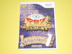 Wii★即決★宝島Z バルバロスの秘宝★箱説付★AVG