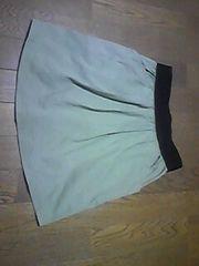 スカート/カーキ/F=Mサイズ同等/子供から大人まで使用可能