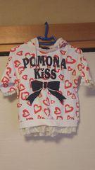 POMONA kiss♪半袖トップス♪130センチ☆
