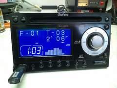 ホンダ純正 Gathers WX-128CU 2DIN CD/USBチューナー フロントAUX  美品