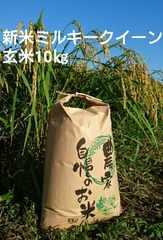 茨城29年産新米ミルキークイーン玄米10�s