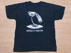 即決!USA古着●鮮やかデザインTシャツ黒!ビンテージ