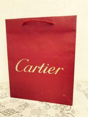 カルティエ 紙袋 ショッパー