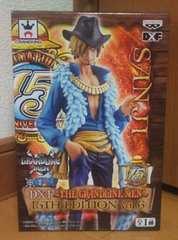 ワンピース DXF THE GRANDLINE MEN 15TH EDITION vol.6 サンジ 全1種