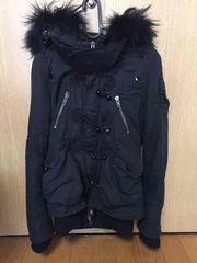 SLY大人気n3b オールブラック サイズ1 スライ  ダウンジャケット