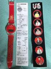 V6  腕時計 PRINT WATCH ステッカー付き Film CLIPS 特典非売品