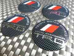 ☆ TRDセンター キャップ ステッカー カーボン調4枚価格56mm