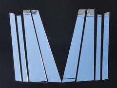 クロームメッキ超鏡面ピラーモール ゴルフトゥーラン 1T系