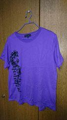 size:3L Tシャツ★紫
