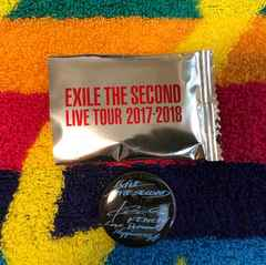 EXILE THE SECOUND☆LIVE TOUR 2017-2018★缶バッジ♪♪