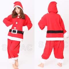 新品 サンタクロース 着ぐるみ コスプレ 衣装 メンズ レディース クリスマス
