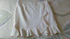 ピンキー&ダイアン☆ホワイトラメスカート
