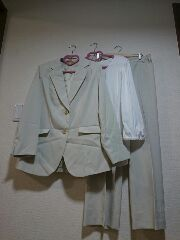 ★新品タグ26号★パンツスーツ★3点セット