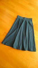 【GALSTAR】ターコイズブルー  フレアスカート