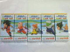 ドラゴンボールZ ワールドコレクタブルフィギュア Memorial Parade 5種セット