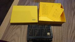 FENDI 二つ折り財布 フェンディ 百貨店購入正規品