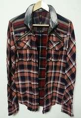 yasu着 l.g.b. shirt-g/m チェックシャツ ルグランブルー