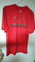 新品☆赤★カジュアル★Tシャツ☆size Lぐらい