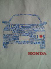 ホンダ HONDA 自動車 バイク 名前入り デザイン トートバッグ ホワイト