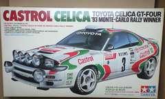 1/24 タミヤ CASTROL CELICA GT-FOUR 93 モンテカルロラリー優勝車