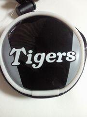 プロ野球 阪神タイガース ミズノ エナメル コインケース 財布 ブラック 紐付き
