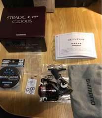 シマノ 16 ストラディック CI4+ 2000S 超美品 格安 絶対お得糸付