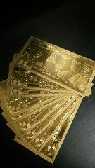 【超美麗】1円〜10枚 黄金一億円札 100000000円フルゴールドver