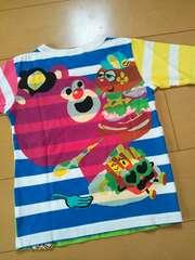 新品ボーダーロングTシャツ120ジャムJAM