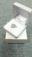 Pt900上質ダイヤ計0.517ct素敵デザインリング23万円