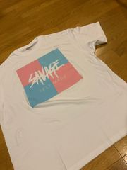 SELF MADE   白ホワイト  デザインプリント  size3XL→2XL