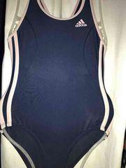 クリーニング済み 競泳水着 サイズ不明(130〜160?) 着用可能