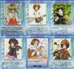 ○美坂栞 ゲームカード14枚(Kanon)