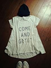Dip Drops フレアロゴTシャツ