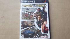 PS2☆クリティカル ベロシティ☆レースゲーム。namco。