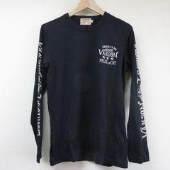 VANSON ロングTシャツ BK 40