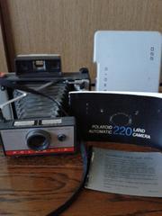 ポラロイドカメラ 220