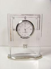 500スタ☆本物正規ミキモトインターナショナル真珠付置き時計