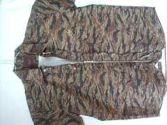 大きいサイズ  スライ  SLY  ミリタリー ZIPシャツ