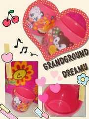 *grandgrounddreamu*コップ(ピンク)激安可愛