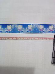 25mm巾 星のステッキ キティ柄リボン1M