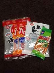 亀田製菓バーコード&星マーク20個  応募ストックに