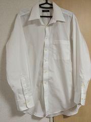 ワイシャツ ビジネス レギュラーサイズ ホワイト 無地