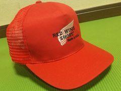 美品USA製¶RED WING[レッドウィング]★メッシュキャップ・ベースボールCAP