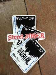 BURIAL マフラー べリアル ストリートジョーカー